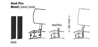 Hasena Factory-Line Kopfteile Zubehör