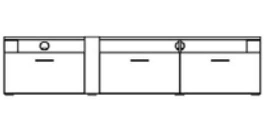 Ideal Arras Einzelmöbel Unterteile
