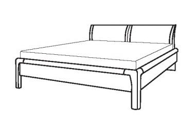 Loddenkemper Schlafzimmer Cortina Plus Betten und Beimöbel 3412