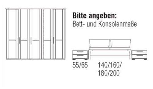 Loddenkemper Schlafzimmer Cortina Plus Zusammenstellungen 9252