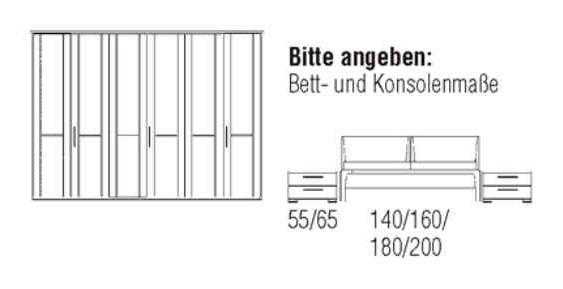 Loddenkemper Schlafzimmer Cortina Plus Zusammenstellungen 9262