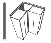 Loddenkemper Schlafzimmer Dakota Zusatzausstattungen Eckwinkelleiste