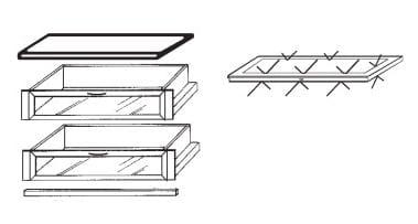 Loddenkemper Schlafzimmer Dakota Zusatzausstattungen Zubehör-Set 4