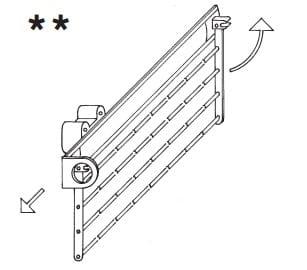Loddenkemper Schlafzimmer Merano Zusatzausstattung für Drehtürenschränke Krawattenhalter