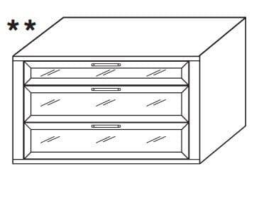 Loddenkemper Schlafzimmer Merano Zusatzausstattung für Drehtürenschränke Schubkasteneinsatz