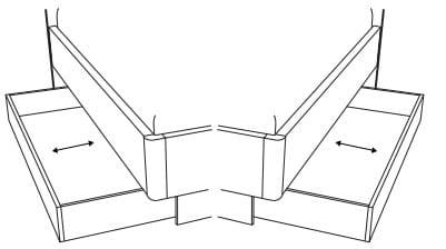 Loddenkemper Schlafzimmer Merano Betten Bettschubkasten