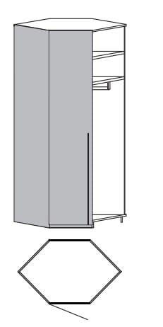 Loddenkemper Schlafzimmer Merano Anbausystem Eck-Anbauschrank