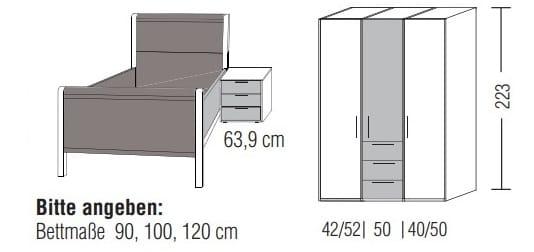 Loddenkemper Schlafzimmer Multi Comfort Zusammenstellungen