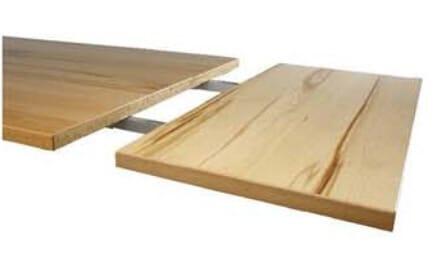 MWA Luana Tische Ansteckplatten