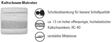 Nehl Schrankbetten Venga Schrankbett 1405