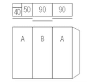 Nolte Germersheim Schwebe- / Dreh- und Falttürenschränke Marcato2.0 Schwebetürenschränke mit 40er-Wäschefach und Garderobennische