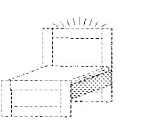 Röhr Jugendzimmer cottage Betten LED-Kopfteilbeleuchtung