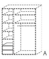Röhr Jugendzimmer HiLight Kleiderschrank-Zubehör K12