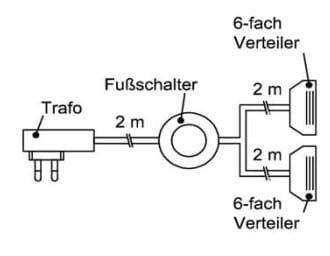 Schröder Kitzalm Montana Zubehör Trafo-Set 50 Watt