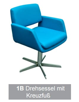 Silaxx Stühle 6115 Stuhlsystem H2O 1B