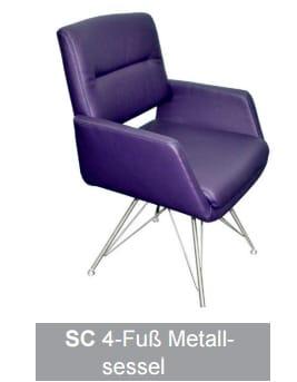 Silaxx Stühle 6115 Stuhlsystem H2O SC
