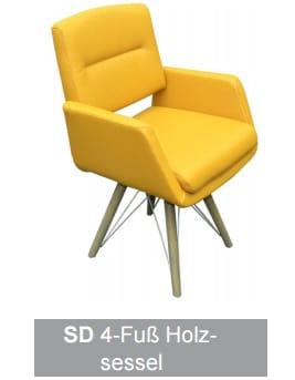 Silaxx Stühle 6115 Stuhlsystem H2O SD