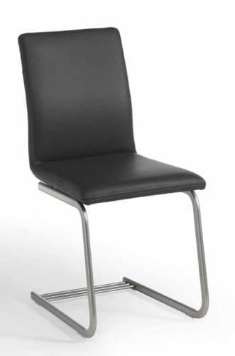 Silaxx Stühle 7885 Freischwinger mit Kappnaht (Bodenkissen)