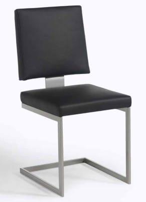Silaxx Stühle 7895 Freischwinger mit Bezugskombination