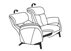 Himolla Cumuly Comfort 4708 2-Sitzer