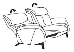 Himolla Cumuly Comfort 4708 3-Sitzer