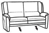 Himolla Tangram Sofa 9851 80 X