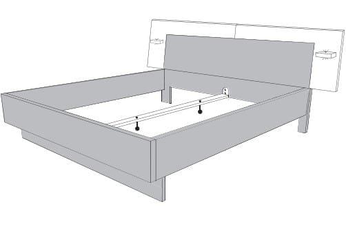 Loddenkemper Schlafzimmer Merano Betten