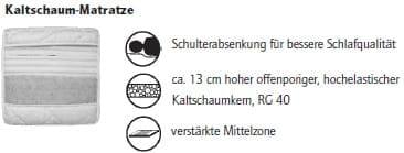 Nehl Schrankbetten Riva Top Schrankbett 1400