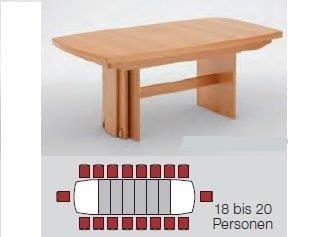 Niehoff Tische Multi-Tischsystem Ausziehtisch 0933