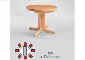 Niehoff Tische Multi-Tischsystem Ausziehtisch 8373