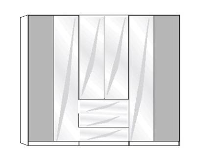 Wiemann Schlafzimmer Amarillo Funktionsschränke