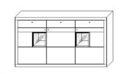 Wöstmann Wohnzimmer Aurum Einzelmöbel