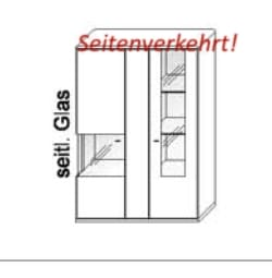 Wöstmann Wohnzimmer Bari 3000 Hängeelemente