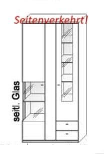 Wöstmann Wohnzimmer Bari 3000 Kombi-Schrank