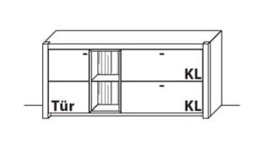Wöstmann Wohnzimmer WM 1830 Sideboarde